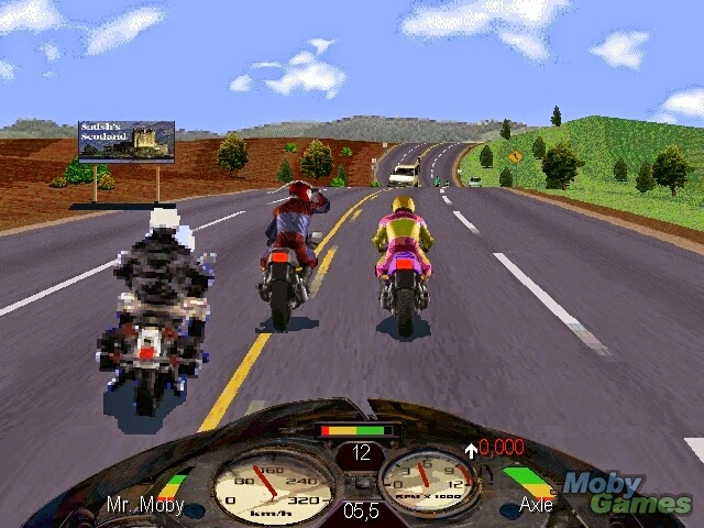 download road rush motorbike game Games Android