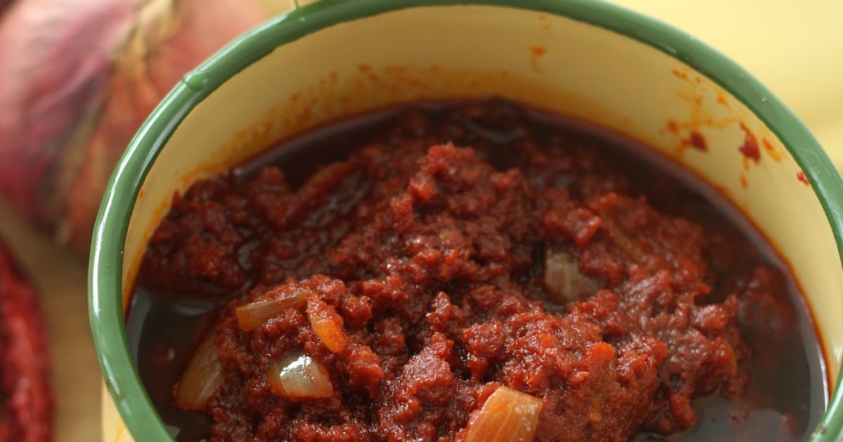 Nasi Lemak Lover: Basic Sambal for Nasi Lemak 叁峇(辣椒酱)