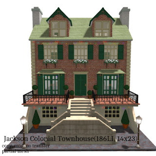 Jackson Colonial Townhouse