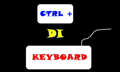 Fungsi Control CTRL + Pada Keyboard