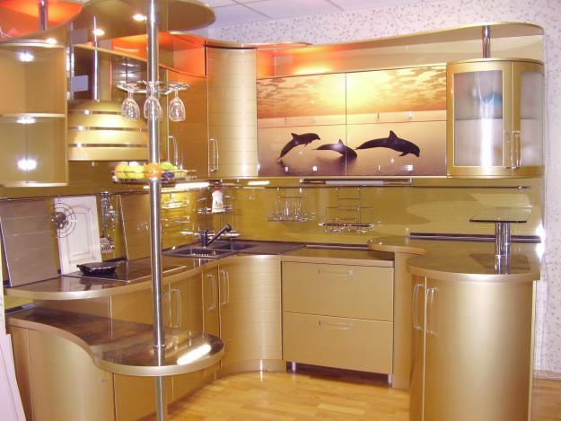 Кухни из акрила дизайн
