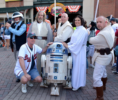 Star Wars Night 2016 at Turner Field | Atlanta Braves