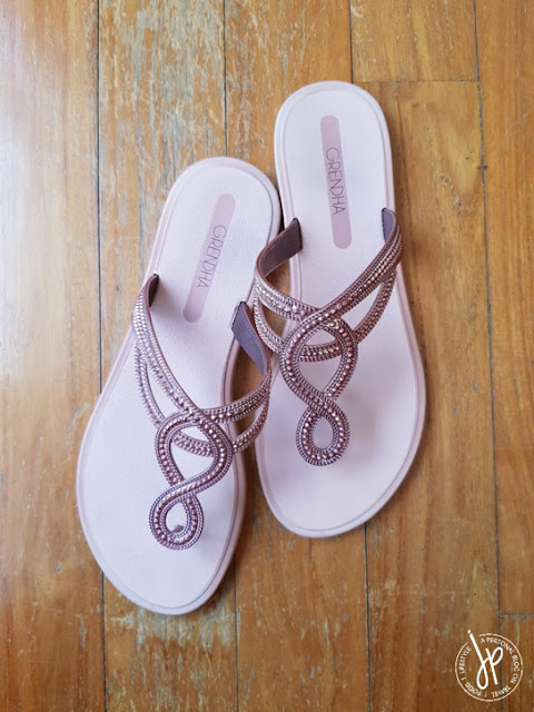 pink thong sandals