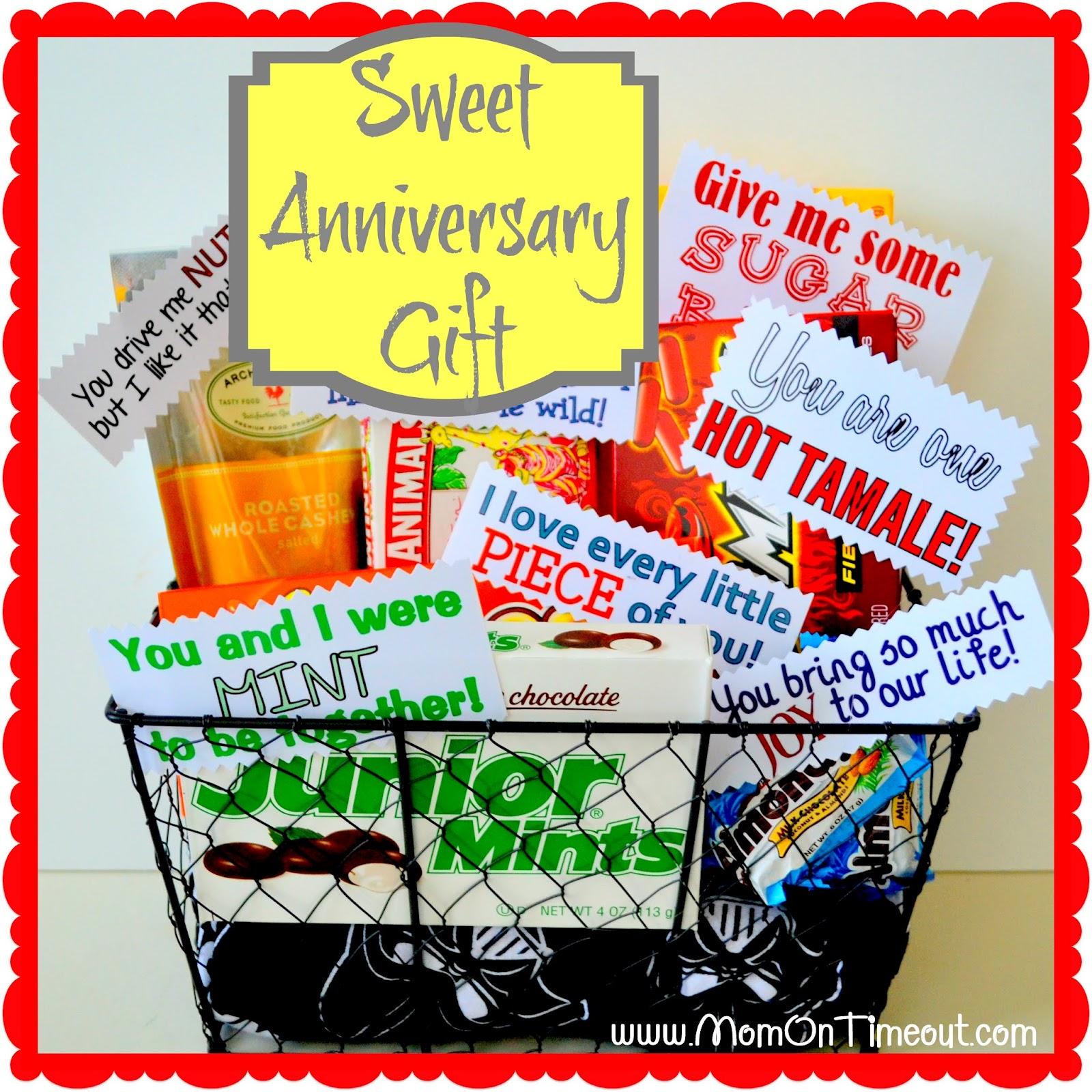 sweet anniversary gift 6th wedding anniversary gift Sweet Anniversary Gift