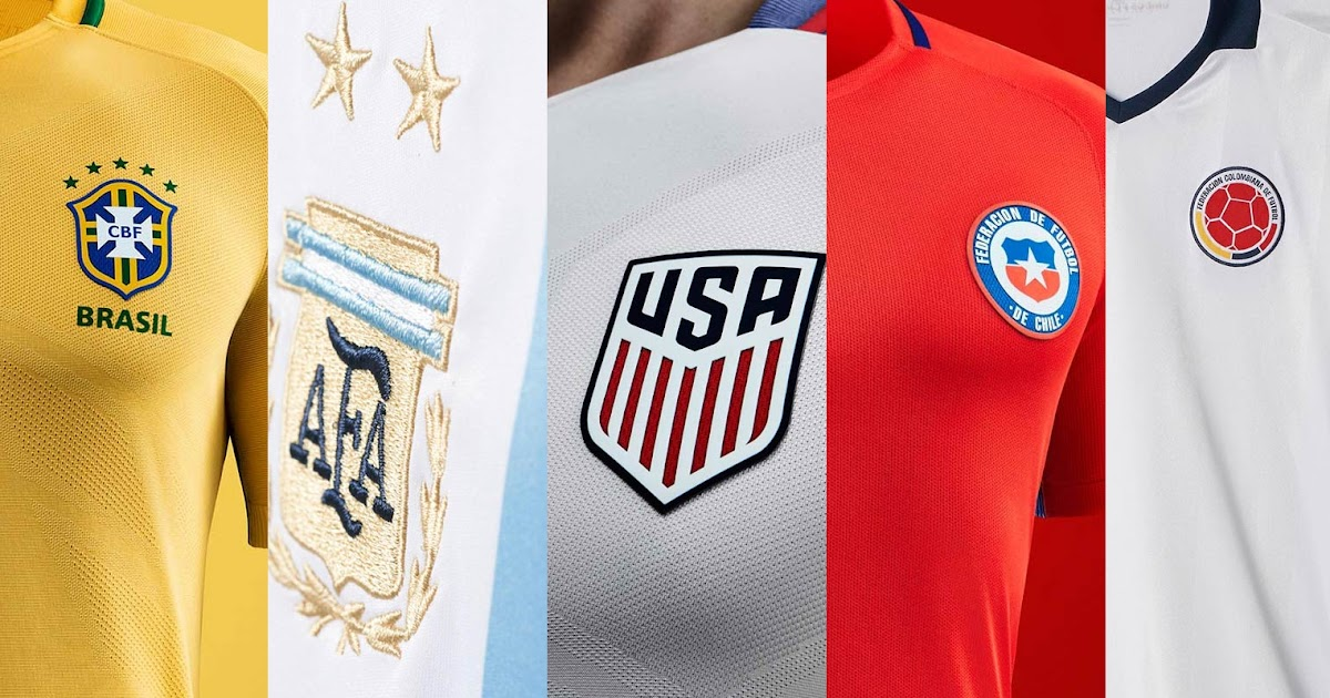 feefcaa8e Discount 2016 Copa America Centenario Kits Overview