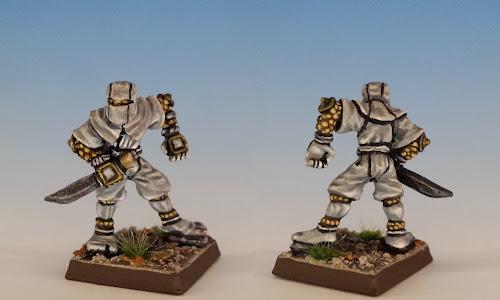 Talisman Ninja, Citadel Miniatures (sculpted by Aly Morrison, 1986)