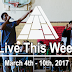 Live This Week: March 4th - 10th, 2018