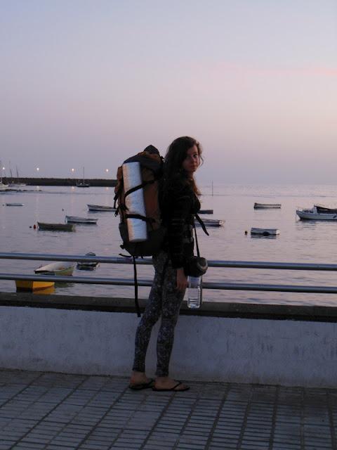 Lanzarote, Wyspy Kanaryjskie, autostop, arrecife, spanie w namiocie