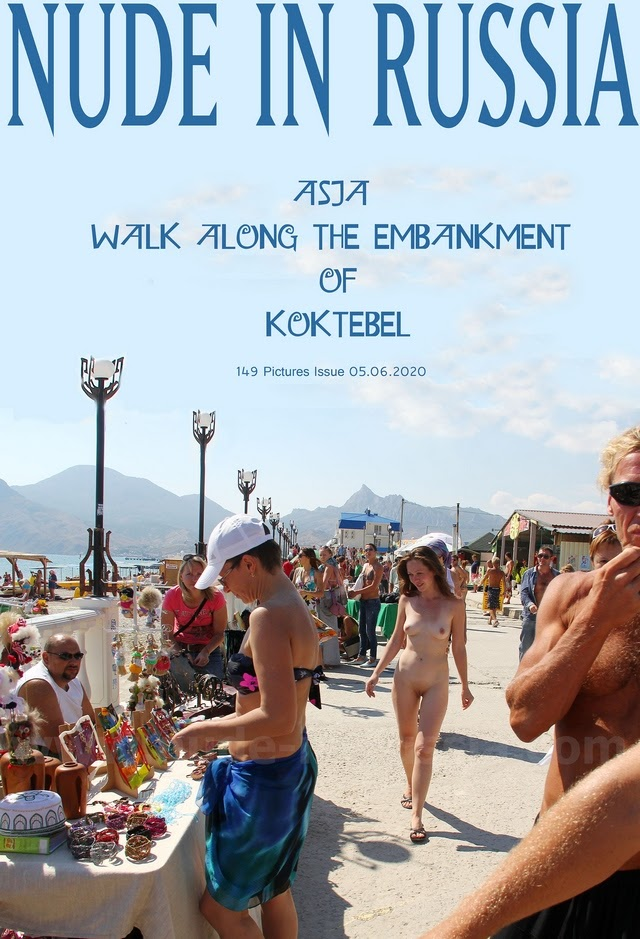 [Nude-in-Russia] Asja K - Walk Along The Embankment Of Koktebel 1591684039_nir