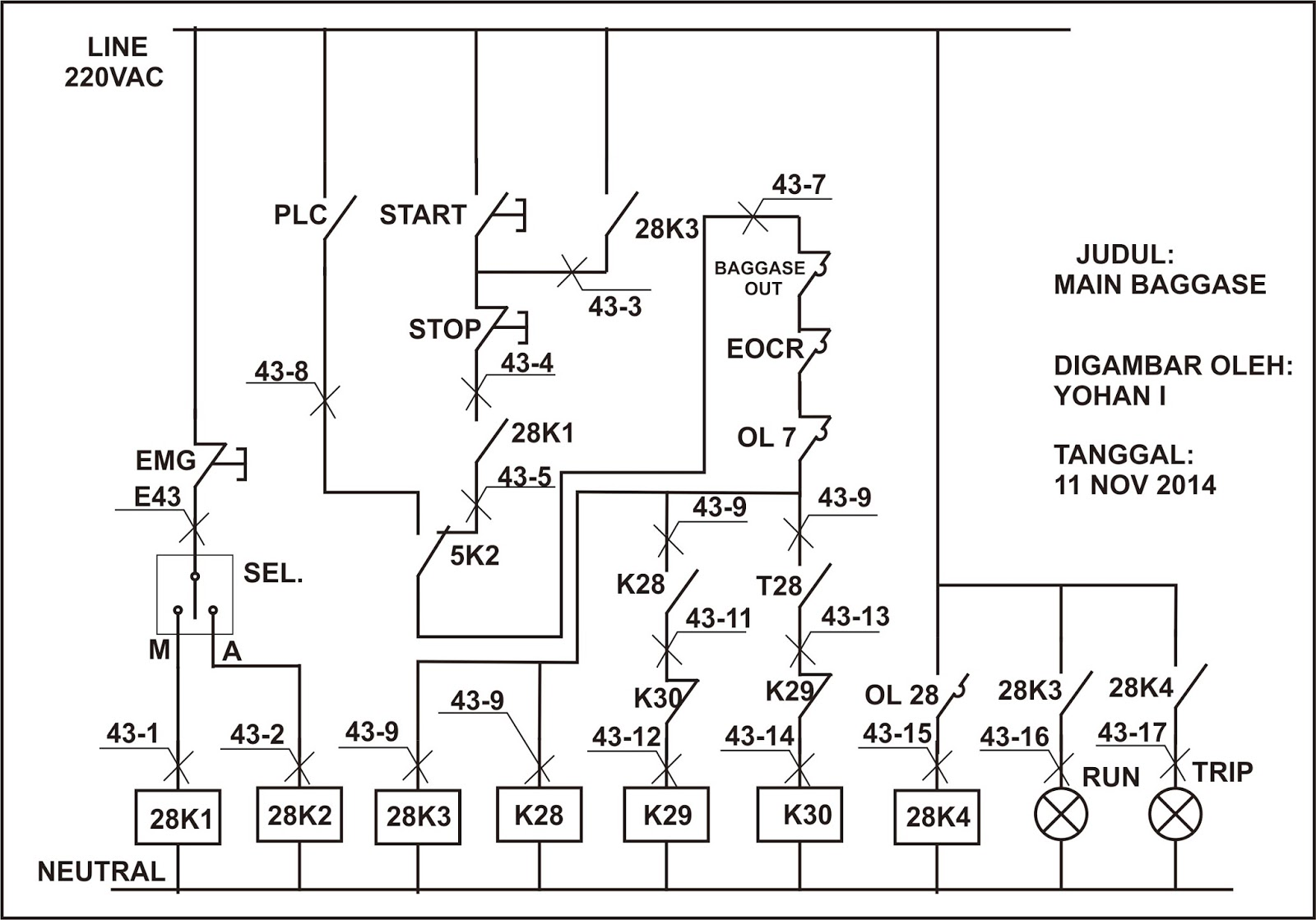 Pak Yohan Blogsite Mengenal Panel Motor Starter Maxitherm