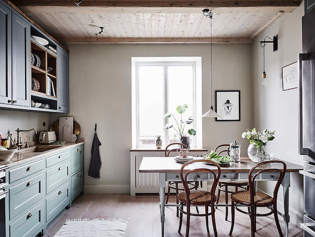 A Swedish home with lovely details