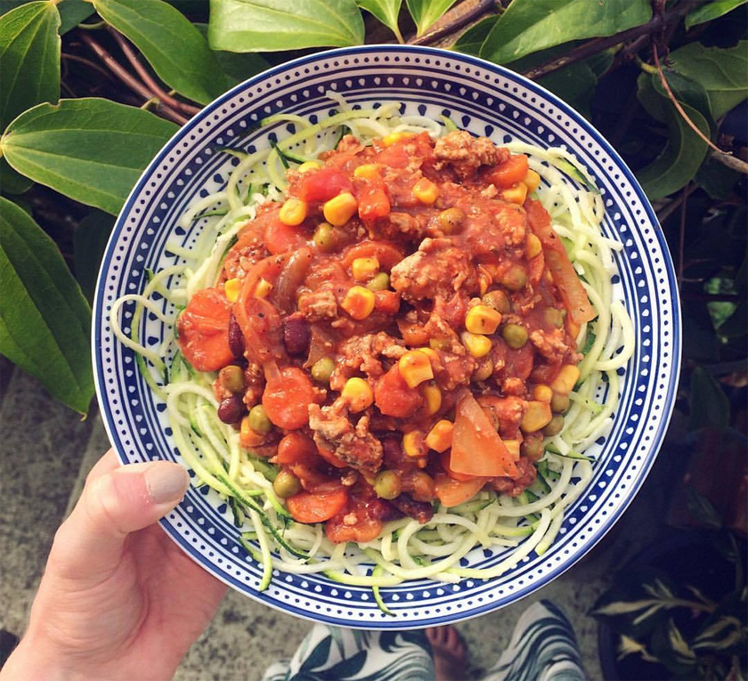 Ditch the carb cut - learn how to swap - meal prep, eat clean, cooking, recip, cougetti bolognese