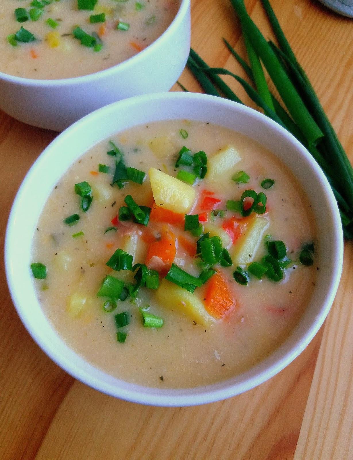 Lekcje W Kuchni Zupa Ziemniaczana Z Serem Cheesy Potato Soup