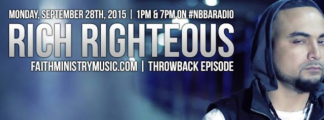 Christian Radio Interview With Rapper Pastor Rich Righteous