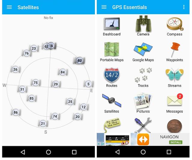 GPS Essentials map app
