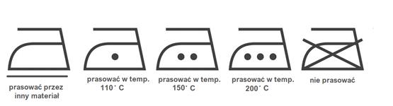 symbole prasowania na metkach