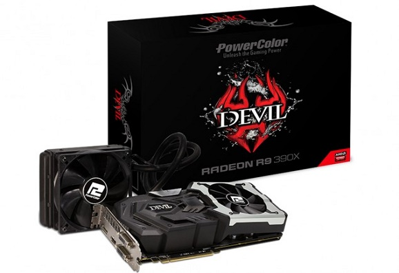 Review VGA PowerColor Radeon Devil R9 390X 8GB GDDR5