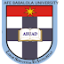 ABUAD 2017/18 2nd Admission Screening Exercise Schedule