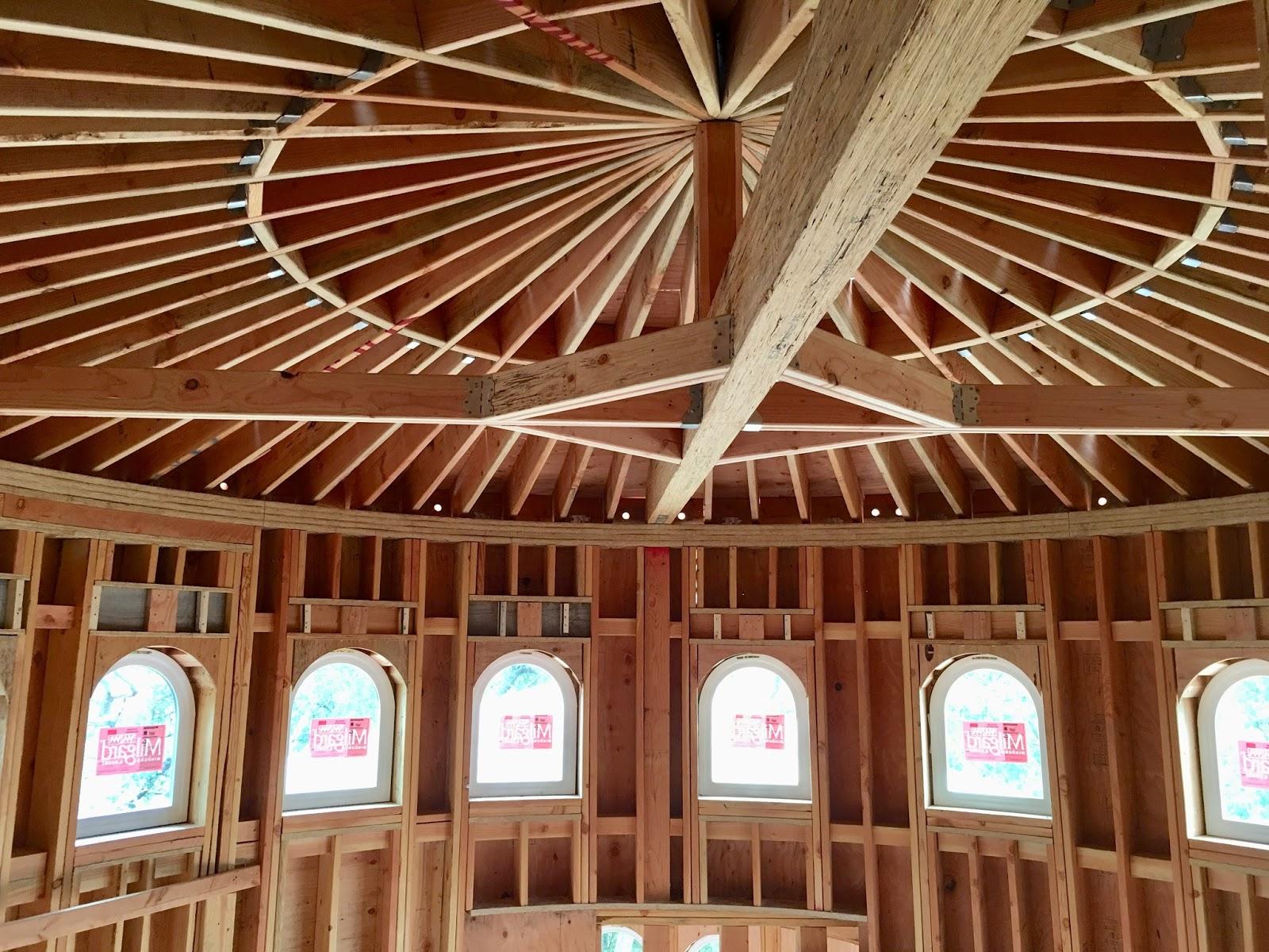 Roof Framing Geometry Freestanding Circular Stair