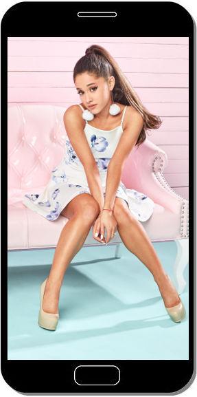 Ariana Grande Pink - Fond d'Écran en FHD pour Mobile