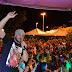 Na noite deste sábado aconteceram shows no 3º Trilhão do Monte Alegre, em Mairi-BA