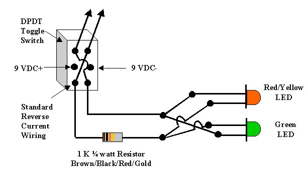 LED INDICATOR LIGHT WIRING DIAGRAM - Auto Electrical Wiring Diagram