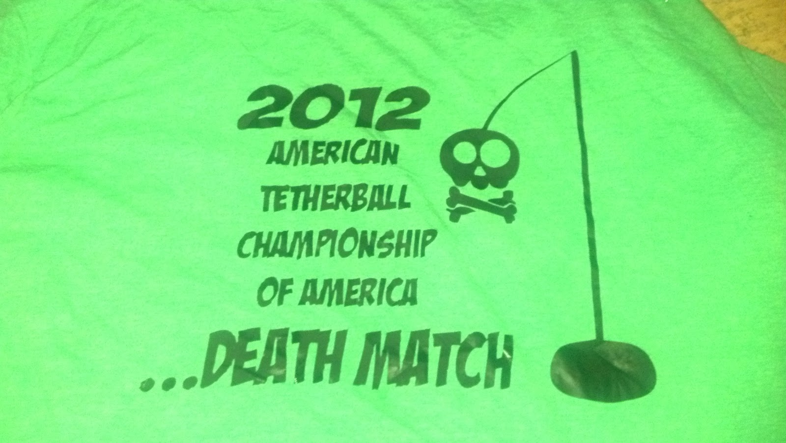 Tether Ball Death Match T-Shirt