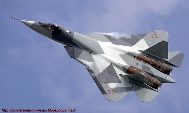Sukhoi PAK DA ( bombardero estratégico de nueva generación Rusia ) Caza%2BPAK-FA%2B%25281%2529