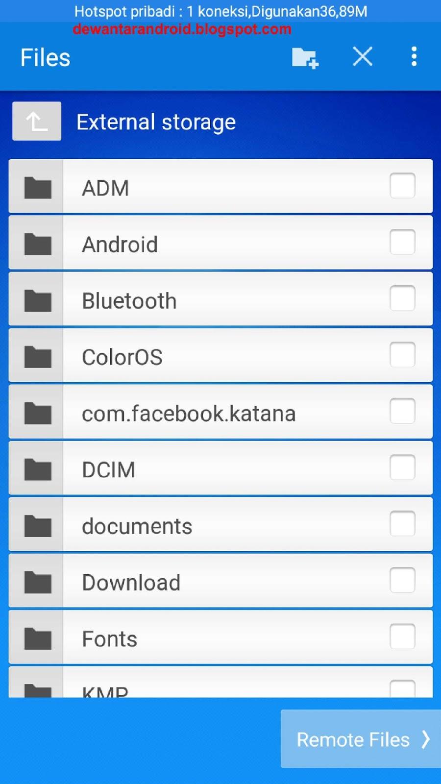 Cara Mengirim File Antar Perangkat Jarak Jauh Dengan