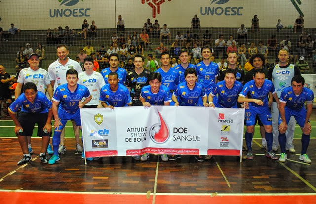 O CH Sistemas Real Makro Joaçaba Futsal novamente fez bonito diante da sua  torcida e f217a0fe76a4d