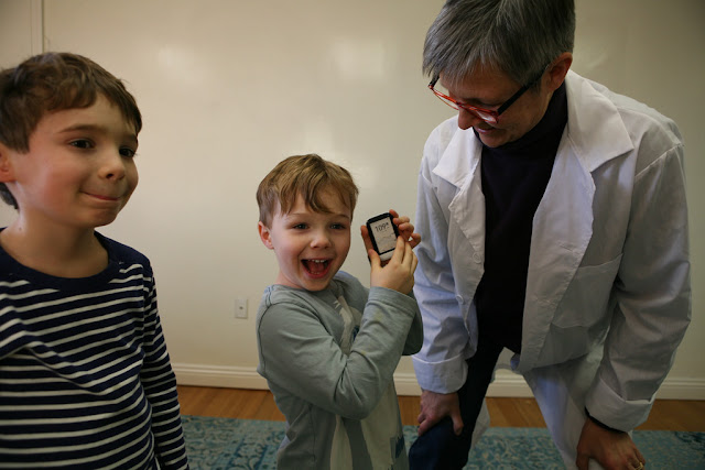 What if the child is afraid of doctors?