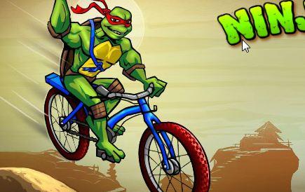 Play TMNT Ninja BMX Game