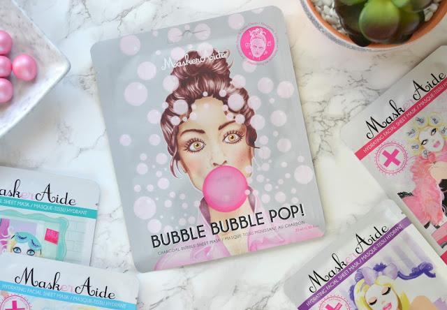 MaskerAide Bubble Bubble Pop Charcoal Bubble Sheet Mask
