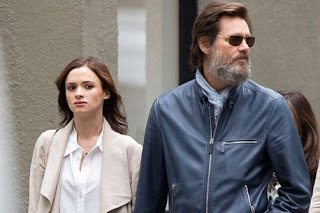 comedian Jim Carrey and ex-girlfriend Cathriona White before her suicide