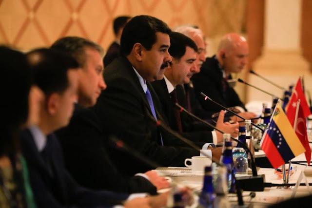 Maduro buscó inversiones de empresarios turcos para su régimen económico