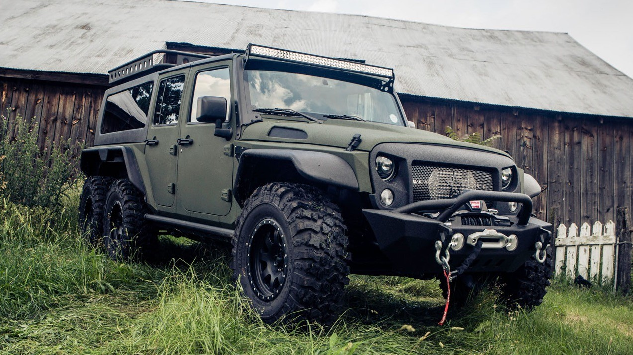 "6×6 Tomahawk da chinesa G. Patton – Um Jeep civil com ""DNA"" militar"