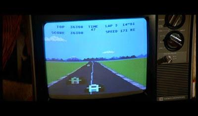 Videojuego Pole Position película Daryl - 1985