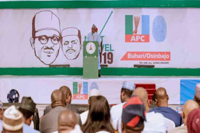Buhari Kicks Off Campaign With Launch Of NEXT LEVEL, Asks Politicians Not To Set Nigeria Ablaze