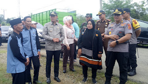 Tinjau Dapil 3, Sukandar Sebut Partisipasi Pemilih di Beberapa TPS Masih Rendah