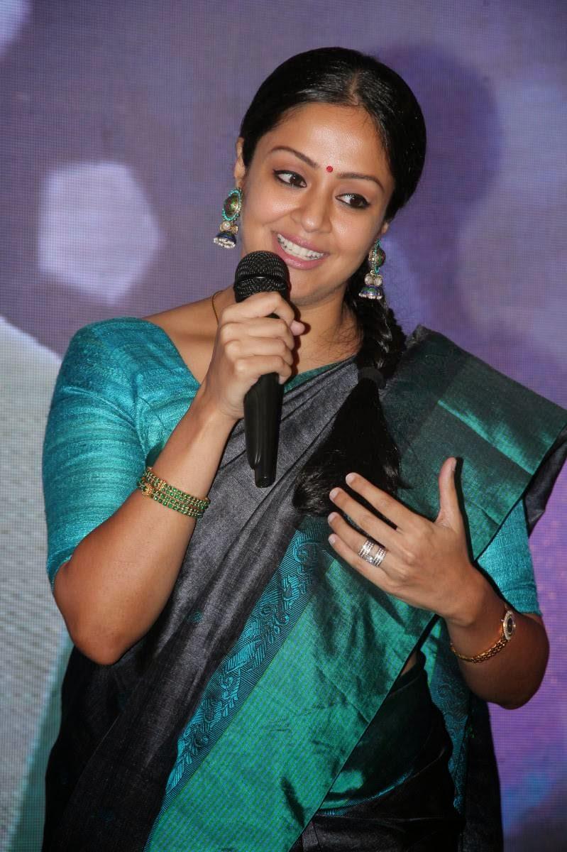 Jyothika Cute Stills at 36 Vayathinile Tamil Movie Audio ...