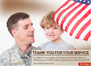 Olive Garden Free Entree On Veteran S Day For Military Queen Of Free