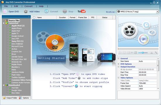 any dvd converter professional crack