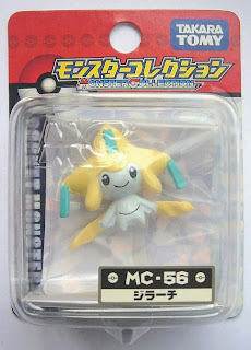 Jirachi figure Takara Tomy Monster Collection MC series