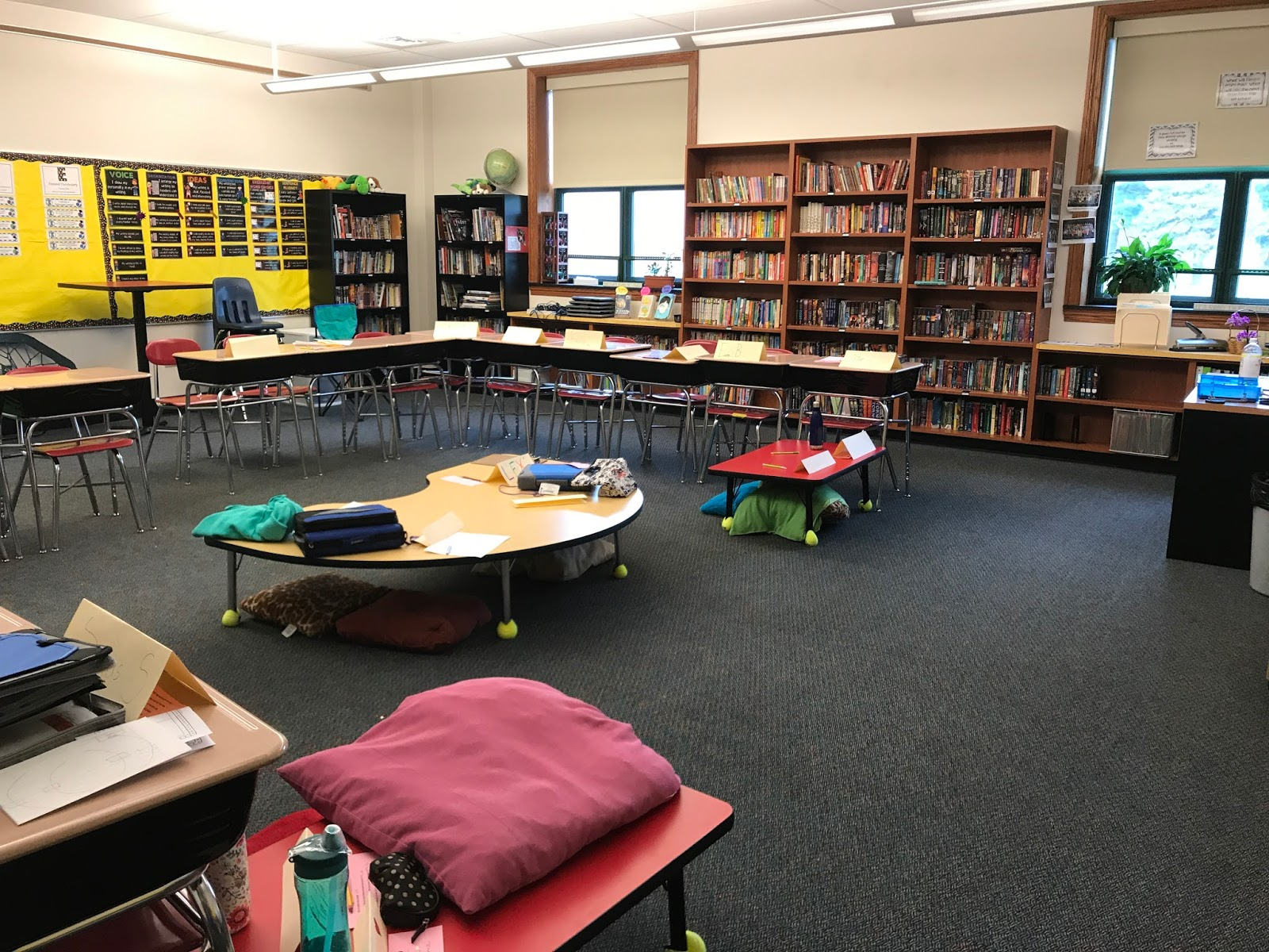 Unconventional Classroom Design ~ Mentoring in the middle