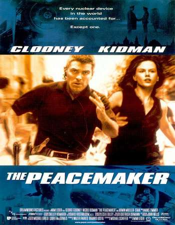 Poster Of The Peacemaker 1997 Dual Audio 720p BRRip [Hindi - English] ESubs Free Download Watch Online Worldfree4u