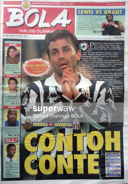 Tabloid BOLA: CONTOH CONTE