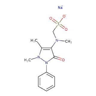 Struktur Kimia Antalgin / Metamizole / metampiron