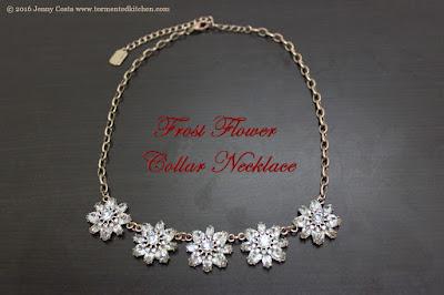 Mirabelle petite flower necklace Chloe Isabel