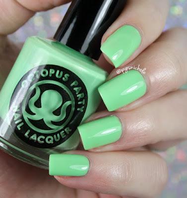 Octopus Party Nail Lacquer The Algae-atic Sea