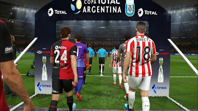 PES 2019 Argentina Entrance Pack ( Superliga + Copa + Supercopa ) by Nahue
